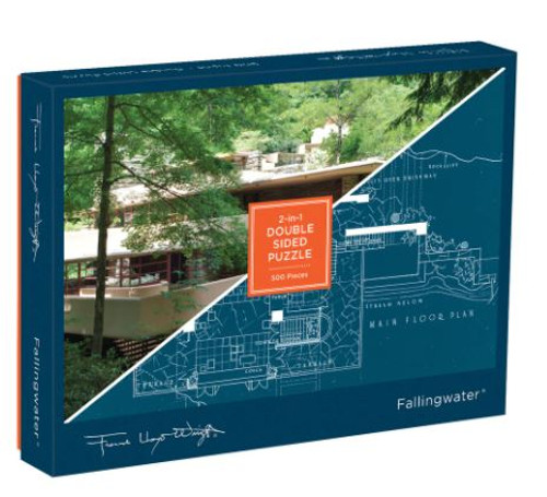 Falling Water 2 Sided Puzzle - 500 Pieces