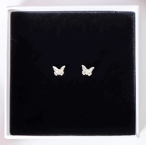 Bo & Bala Monarch Butterfly Studs