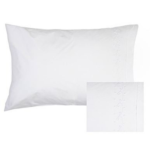 Pair of Cotton Pillowcases 48cm x 73cm