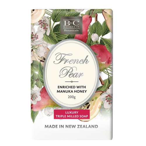 Banks & Co French Pear Soap 200gm