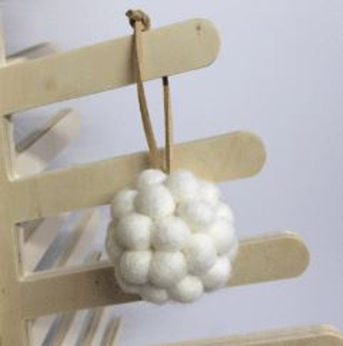 Felt Ball Decorations - Small