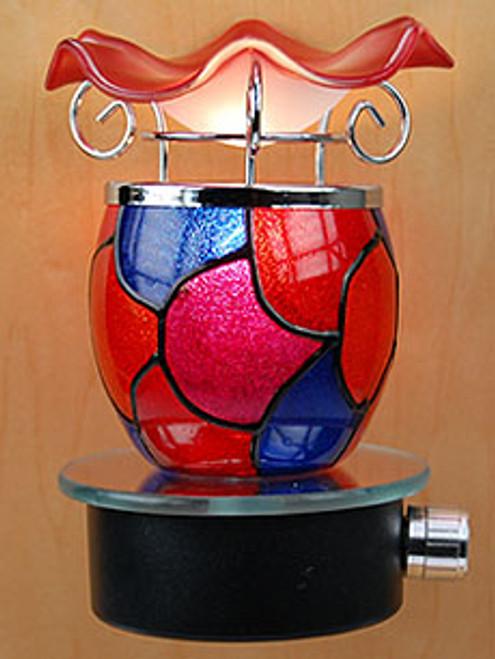Red & Blue Plug In Warmer