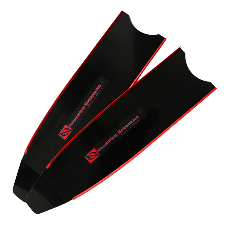 Kaudal Fiberglass Blade, Pair Black
