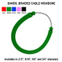 Bands, Braided Cable Wishbone
