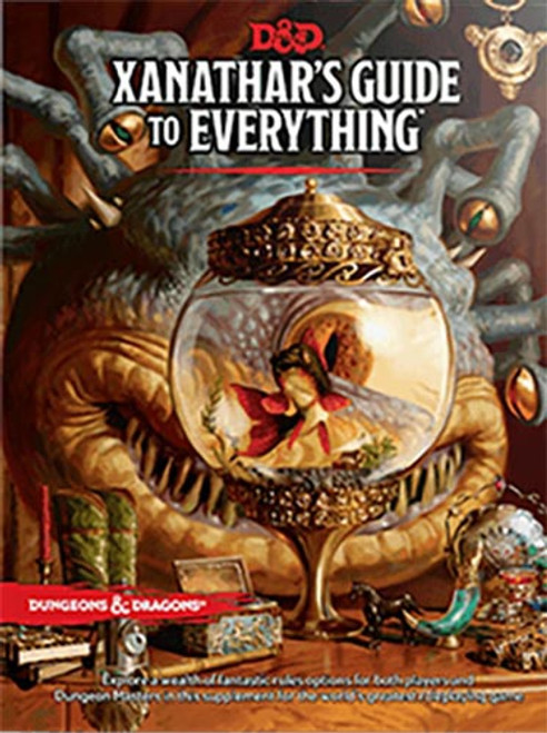 Book Xanathar's Guide to Everything - Cerberus Games