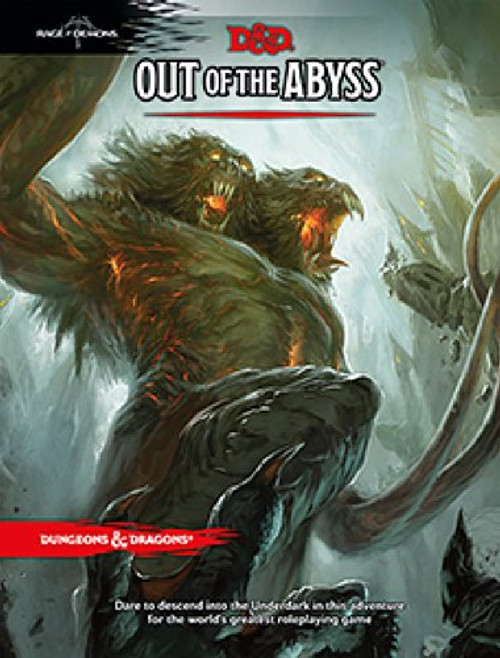 Book Out of the Abyss - Cerberus Games