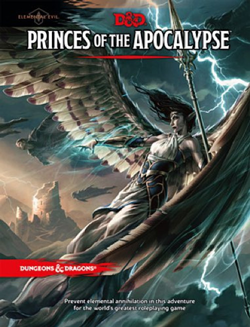 Book Princes of the Apocalypse - Cerberus Games