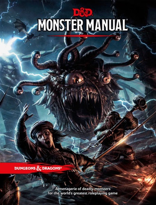 Book Monster Manual - Cerberus Games