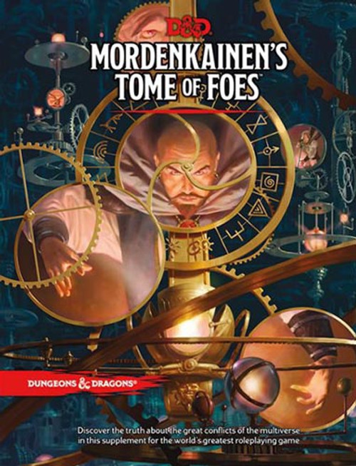 Book Mordenkainens Tome of Foes - Cerberus Games