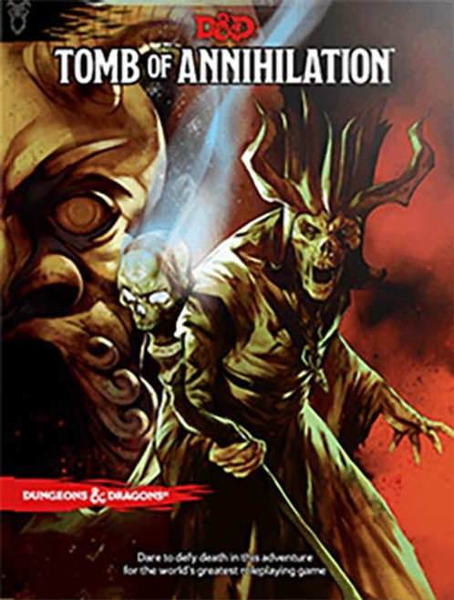 Book Tomb of Annihilation - Cerberus Games