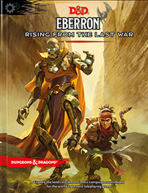 Book Eberron Rising From the Last War - Cerberus Games