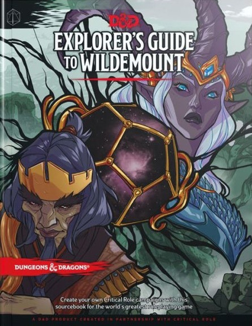 Book Explorers Guide to Wildemount