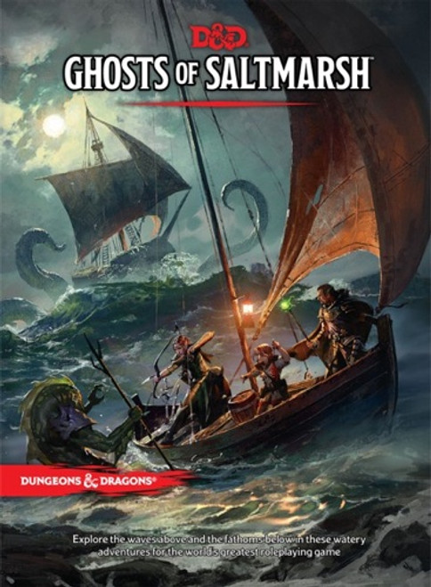 Book Ghosts of Saltmarsh - Cerberus Games