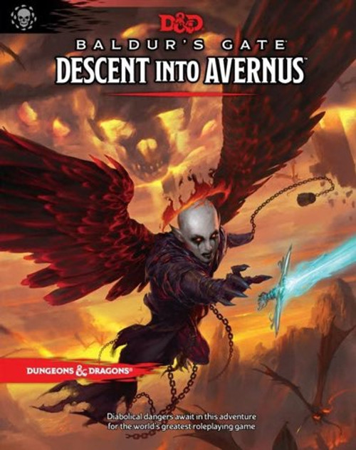 Book Descent into Avernus - Cerberus Games