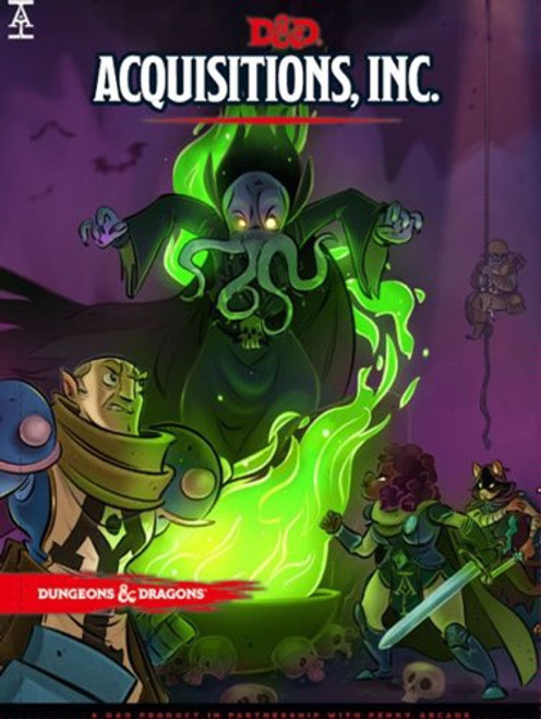 Book Acquisitions Incorporated - Cerberus Games