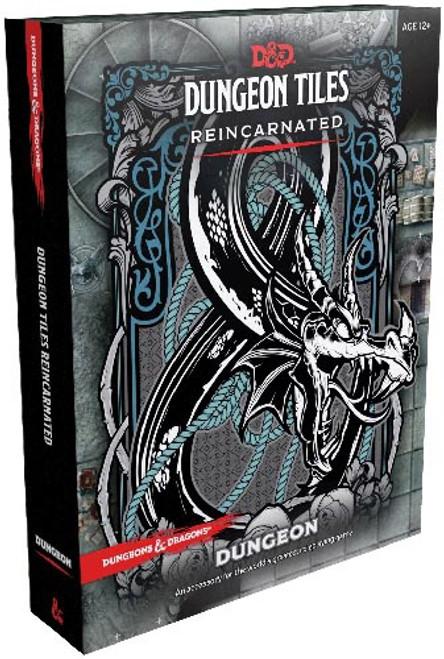 Dungeon Tiles Reincarnated Dungeon - Cerberus Games