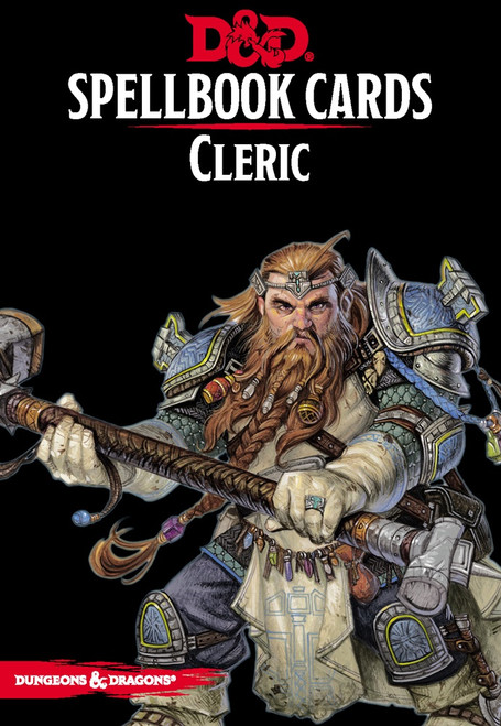 Spellbook Cards Cleric - Cerberus Games