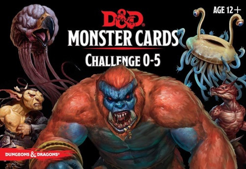 Spellbook Cards Monster Challenge 0-5 - Cerberus Games
