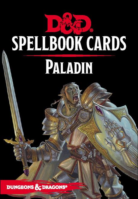 Spellbook Cards Paladin - Cerberus Games