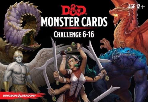 Spellbook Cards Monster Challenge 6-16 - Cerberus Games