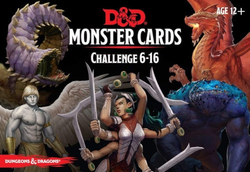 Spellbook Cards Monster Challenge 6-16 - Cerberus Games
