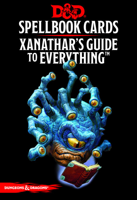 Spellbook Cards Xanathar's Guide to Everything - Cerberus Games