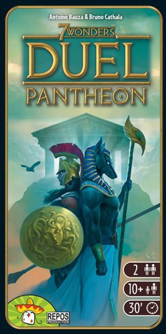 7 Wonders Duel Expansion Pantheon - Cerberus Games