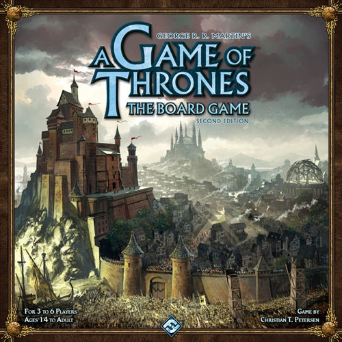 A Game of Thrones The Board Game - Cerberus Games