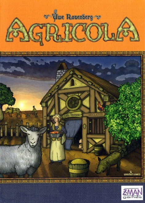 Agricola Revised Edition - Cerberus Games