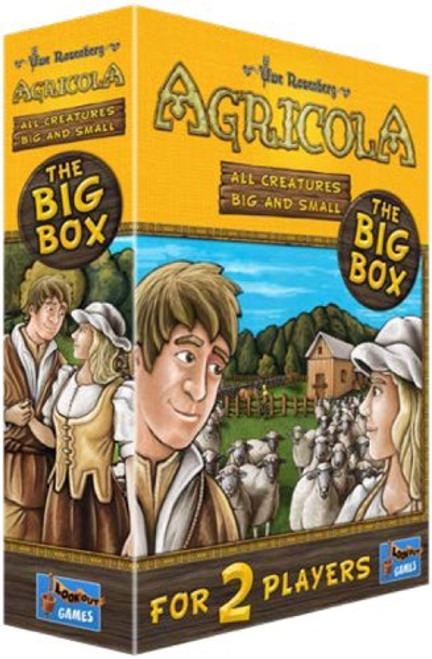 Agricola All Creatures Big and Small - Cerberus Games