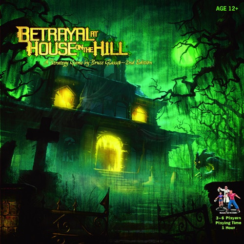 Betrayal at House on the Hill - Cerberus Games