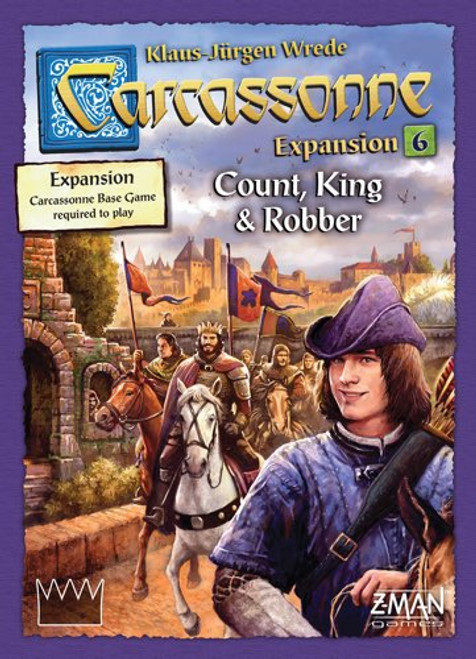 Carcassonne Expansion Count, King & Robber - Cerberus Games