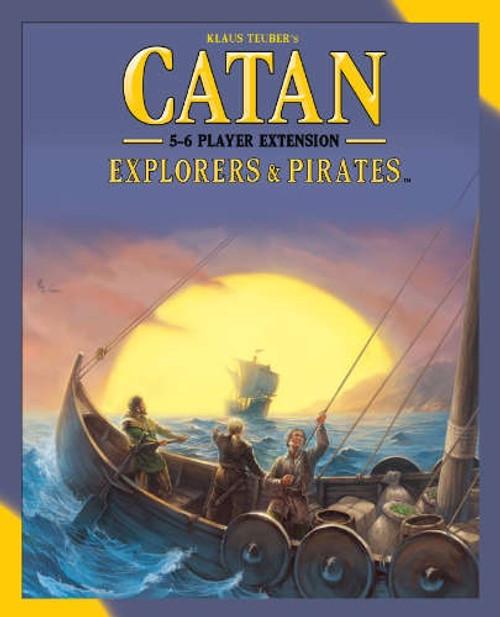 Catan Expansion Explorers & Pirates 5-6 - Cerberus Games