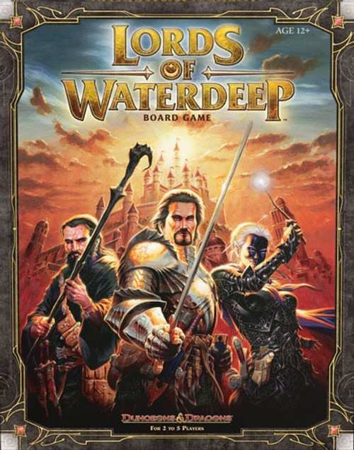 D&D Lords of Waterdeep Boardgame - Cerberus Games