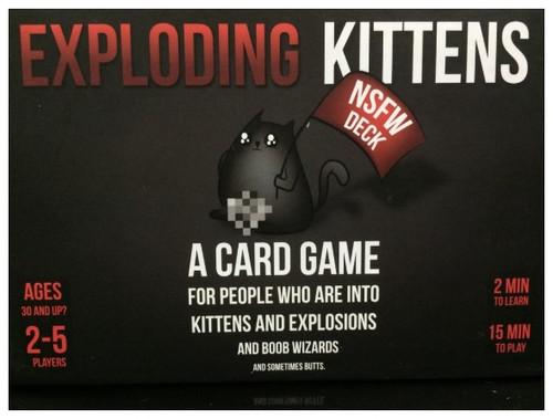 Exploding Kittens NSFW - Cerberus Games
