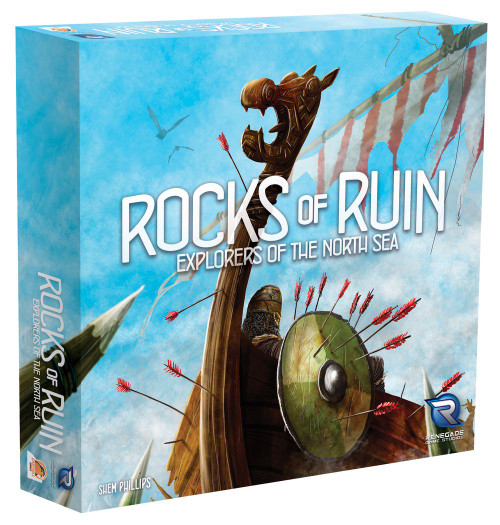 Explorers of the North Sea Expansion Rocks of Ruin - Cerberus Games