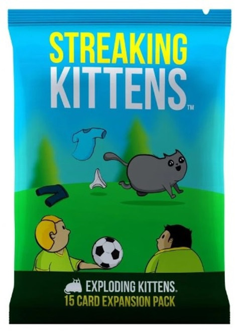 Exploding Kittens Expansion Streaking Kittens - Cerberus Games