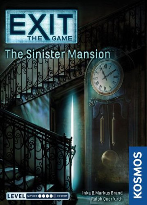 Exit The Sinister Mansion - Cerberus Games