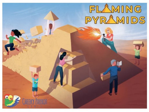 Flaming Pyramids - Cerberus Games