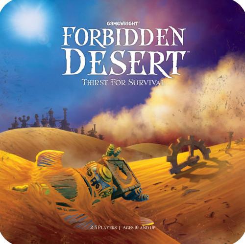 Forbidden Desert - Cerberus Games