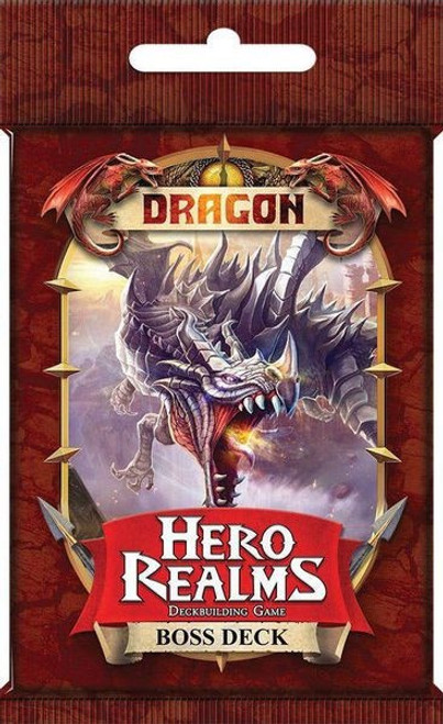 Hero Realms Expansion Dragon Boss Deck - Cerberus Games