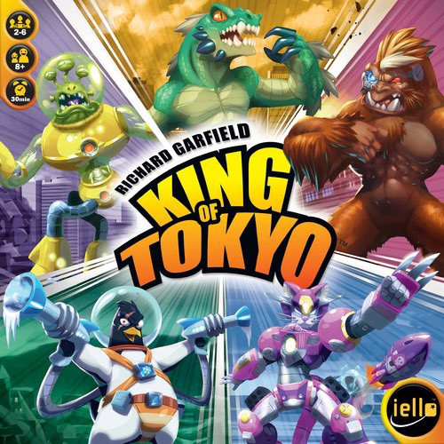 King of Tokyo 2nd Edition - Cerberus Games