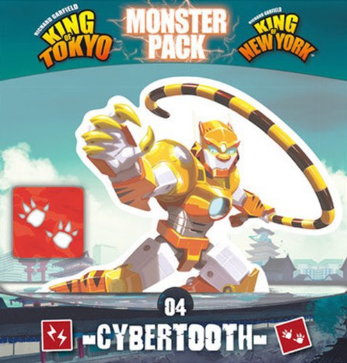 King of Tokyo Expansion Cybertooth - Cerberus Games