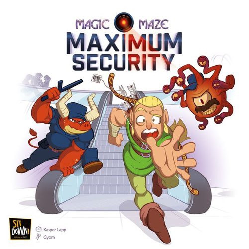 Magic Maze Expansion Maximum Security - Cerberus Games