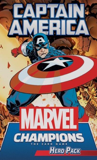 Marvel Champions Expansion Captain America Hero - Cerberus Games