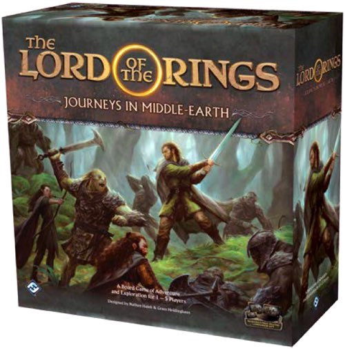 Lord of the Rings Journeys in Middle Earth - Cerberus Games