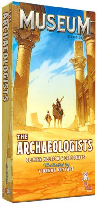 Museum Expansion The Archaeologist - Cerberus Games
