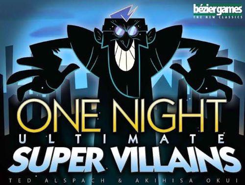 One Night Ultimate Super Villains - Cerberus Games