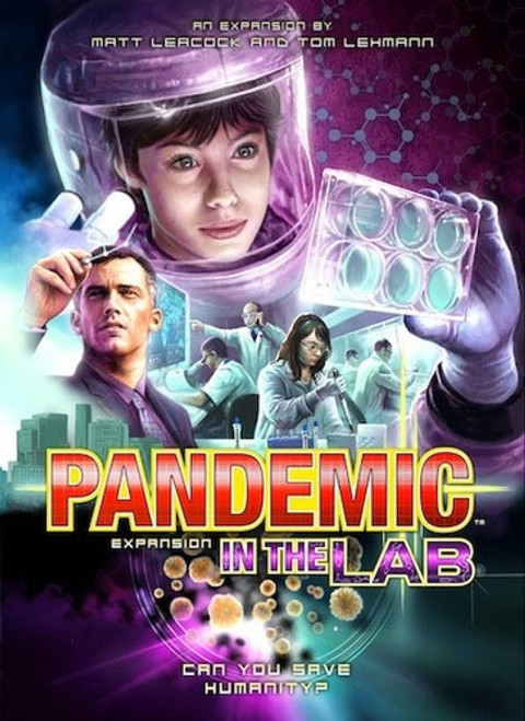 Pandemic Expansion In the Lab - Cerberus Games