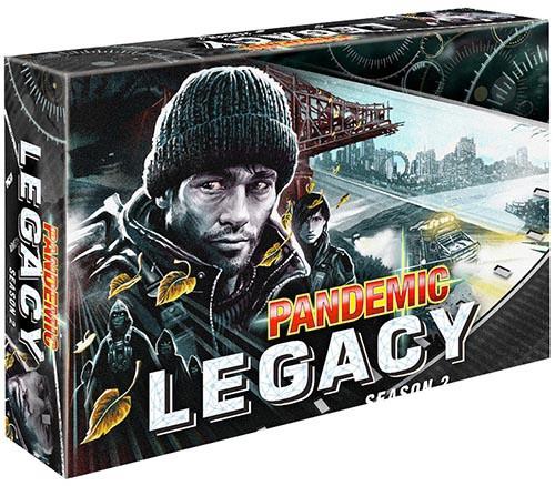 Pandemic Legacy Season 2 Black - Cerberus Games